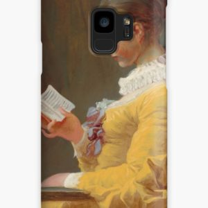 Young Girl Reading Painting by Jean-Honoré Fragonard Cases & Skins for Samsung Galaxy