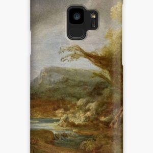 Stolen Art - Landscape with an Obelisk by Govert Flinck Cases & Skins for Samsung Galaxy