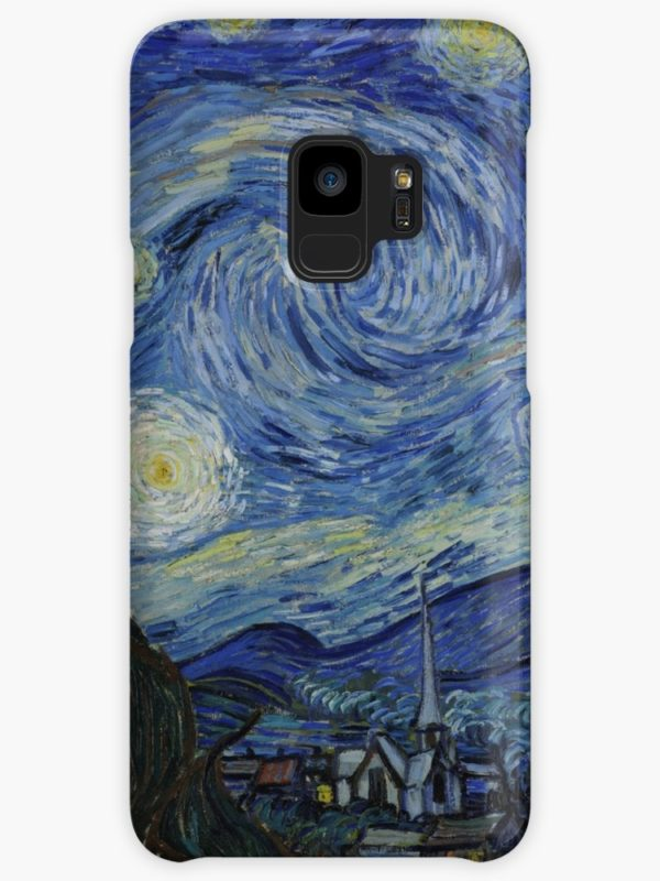 Starry Night Oil painting by Vincent van Gogh Cases & Skins for Samsung Galaxy