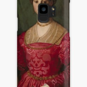 A Young Woman and Her Little Boy Oil Painting by Agnolo Bronzino Cases & Skins for Samsung Galaxy