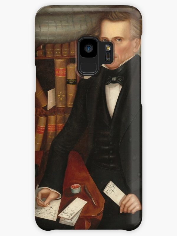 Vermont Lawyer Oil Painting by Horace Bundy Cases & Skins for Samsung Galaxy