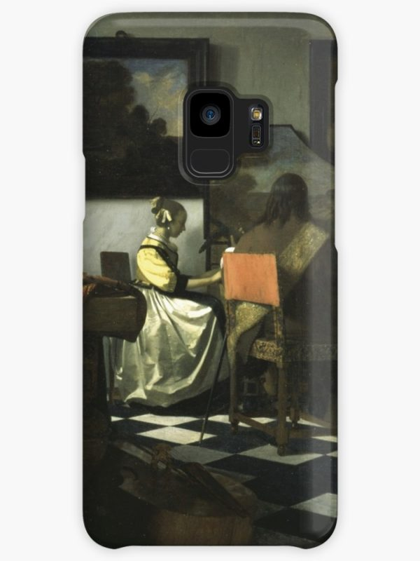 Stolen Art - The Concert by Johannes Vermeer Cases & Skins for Samsung Galaxy