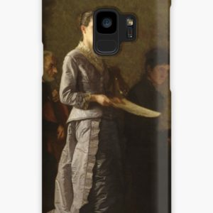 Singing a Pathetic Song Oil Painting by Thomas Eakins Cases & Skins for Samsung Galaxy