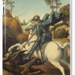 Saint George and the Dragon Oil Painting By Raphael iPad Cases & Skins