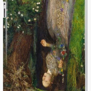 Ophelia Oil Painting by Sir John Everett Millais - Hamlet - Play iPad Cases & Skins