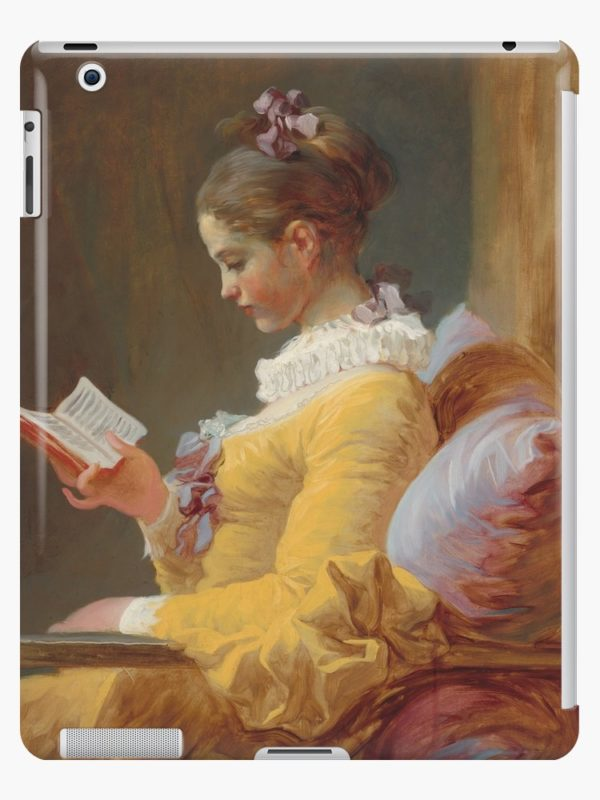 Young Girl Reading Painting by Jean-Honoré Fragonard iPad Cases & Skins