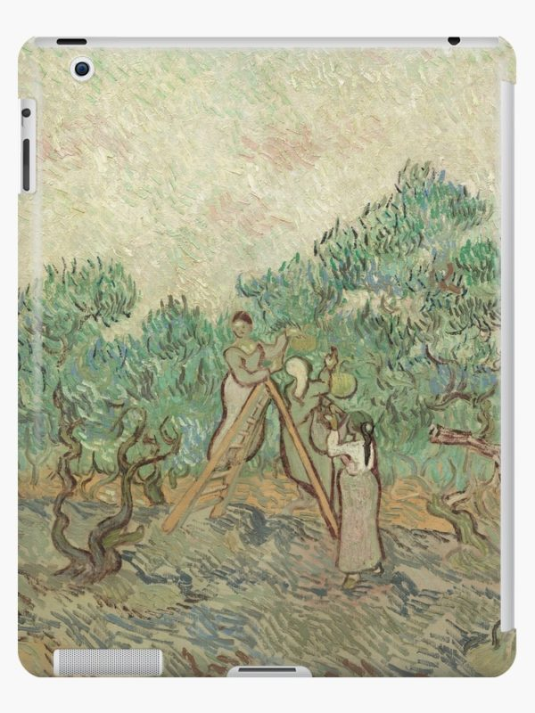 The Olive Orchard by Vincent van Gogh - Classic Art iPad Cases & Skins