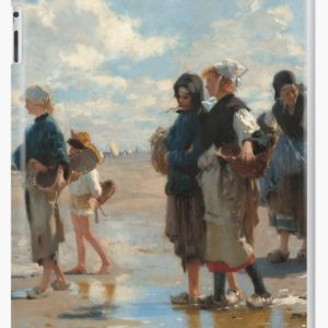 Setting Out to Fish Oil Painting by John Singer Sargent iPad Cases & Skins