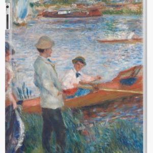 Oarsmen at Chatou Painting by Auguste Renoir iPad Cases & Skins