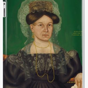 Eliza R. Read Oil Painting by Royall Brewster Smith iPad Cases & Skins