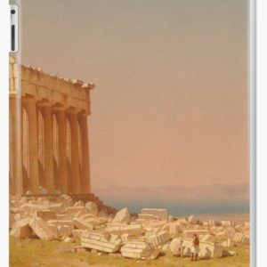 Ruins of the Parthenon Oil Painting by Sanford Robinson Gifford iPad Cases & Skins