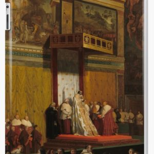 Pope Pius VII in the Sistine Chapel Oil Painting by Jean-Auguste-Dominique Ingres iPad Cases & Skins
