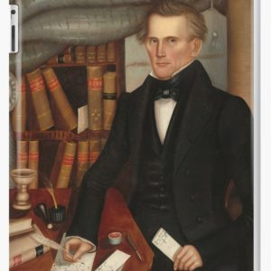 Vermont Lawyer Oil Painting by Horace Bundy iPad Cases & Skins