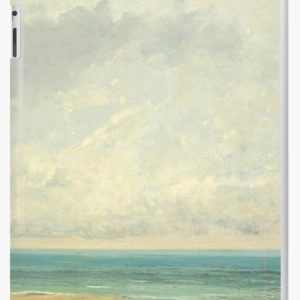 Calm Sea Oil Painting by Gustave Courbet iPad Cases & Skins