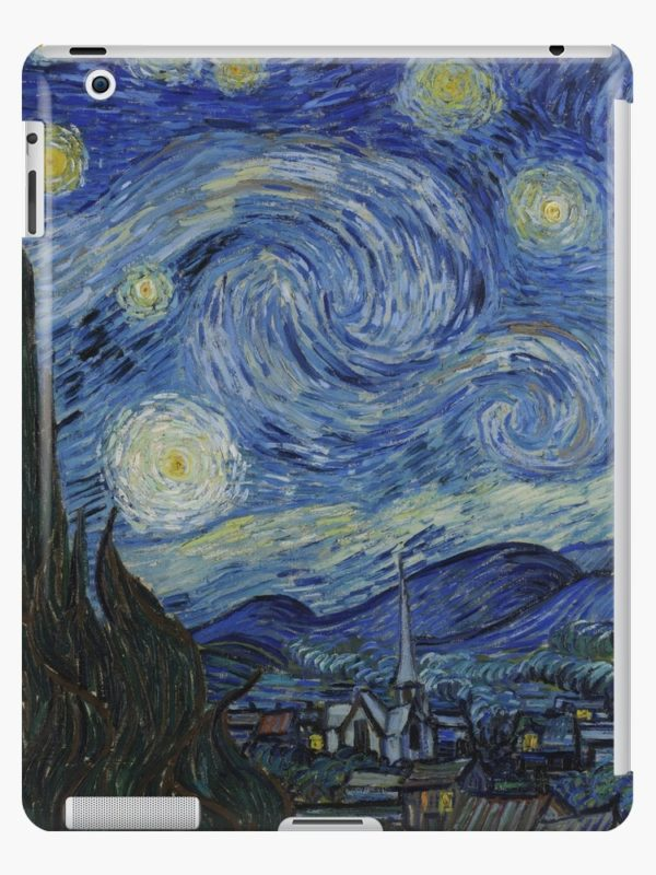 Starry Night Oil painting by Vincent van Gogh iPad Cases & Skins