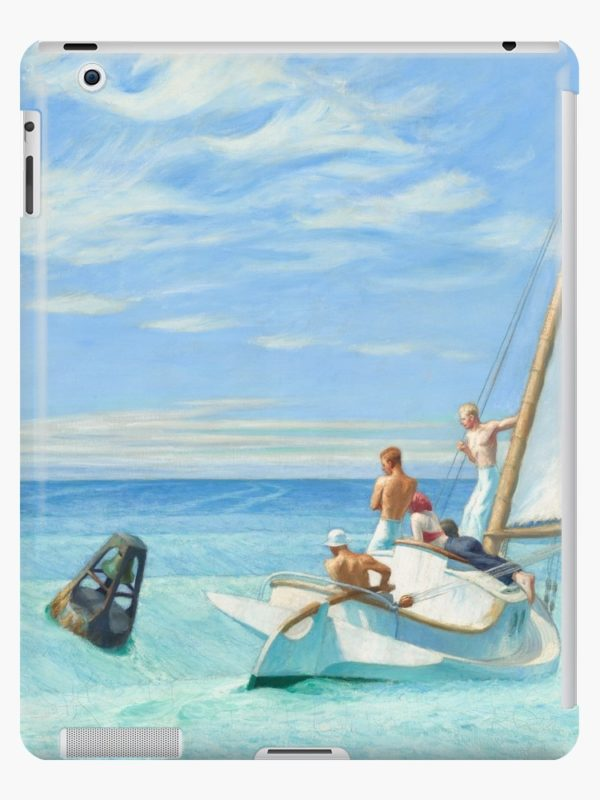Ground Swell Oil Painting by Edward Hopper iPad Cases & Skins