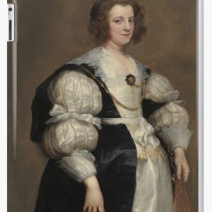 Lady with a Fan Oil Painting by Sir Anthony van Dyck iPad Cases & Skins