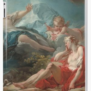 Diana and Endymion Oil Painting by Jean-Honoré Fragonard iPad Cases & Skins