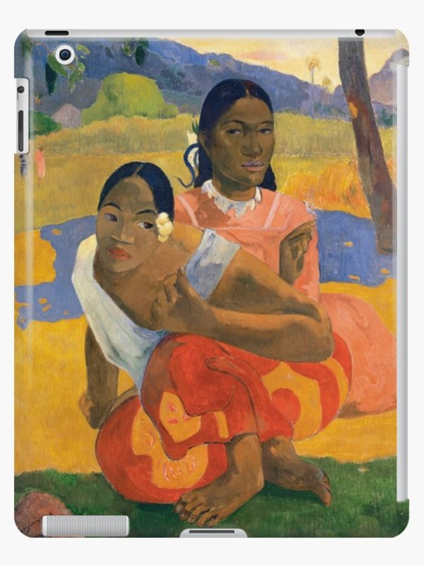 Affordable Art $300,000,000 When Will You Marry by Paul Gauguin iPad Cases & Skins