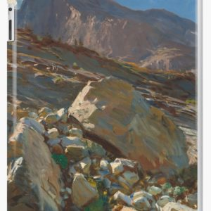 Simplon Pass Oil Painting by  John Singer Sargent iPad Cases & Skins