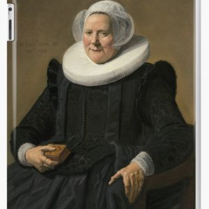 Portrait of an Elderly Oil Painting Lady by Frans Hals iPad Cases & Skins