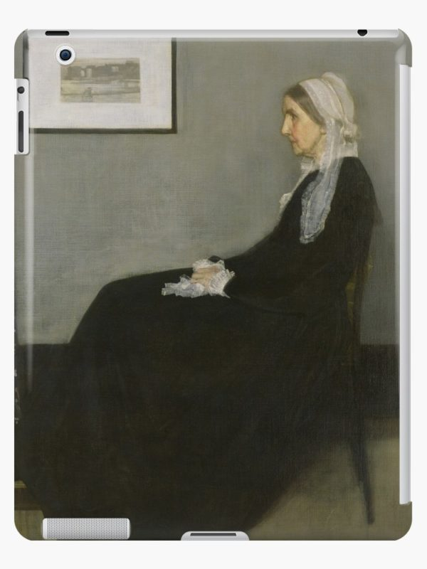 Whistlers Mother Oil Painting by James McNeill Whistler iPad Cases & Skins
