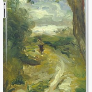 Landscape Between Storms Oil Painting by Auguste Renoir iPad Cases & Skins