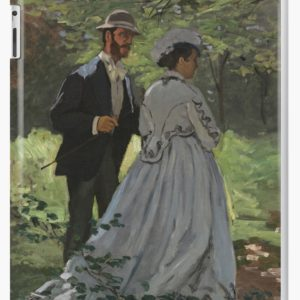 Bazille and Camille Painting by Claude Monet iPad Cases & Skins