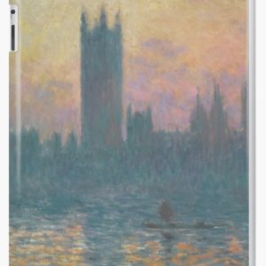 The Houses of Parliament  Sunset by Claude Monet iPad Cases & Skins
