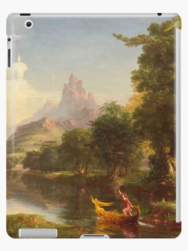 The Voyage of Life Youth Painting by Thomas Cole iPad Cases & Skins