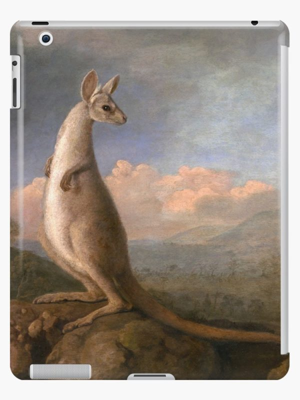 The Kongouro Oil Painting by Australian Artist George Stubbs iPad Cases & Skins