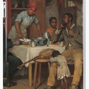 A Pastoral Visit Oil Painting by Richard Norris Brooke iPad Cases & Skins