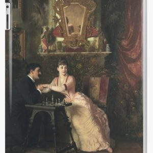 The Proposal Oil Painting by Knut Ekwall iPad Cases & Skins