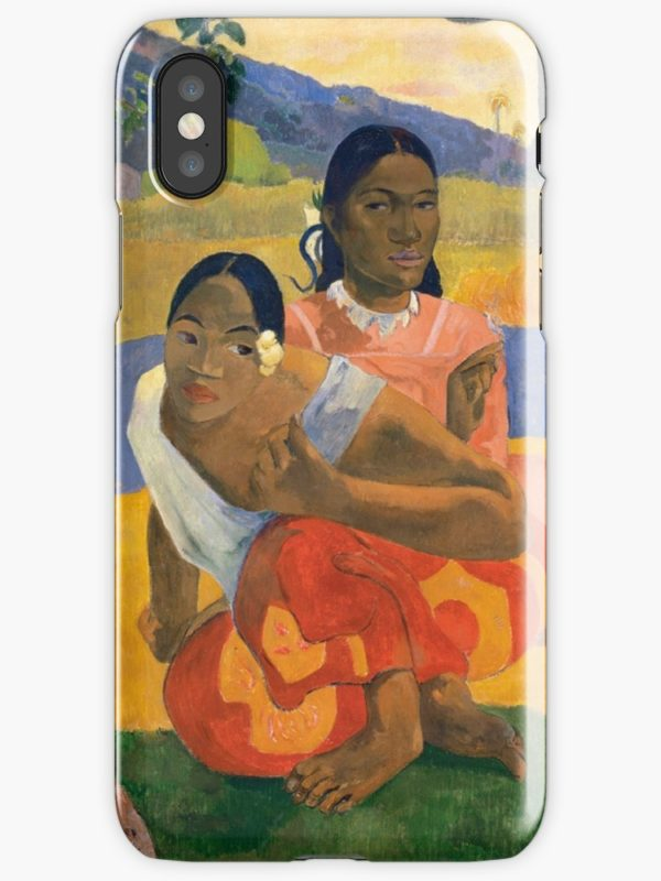 Affordable Art $300,000,000 When Will You Marry by Paul Gauguin iPhone Cases & Covers