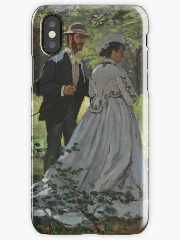 Bazille and Camille Painting by Claude Monet iPhone Cases & Covers