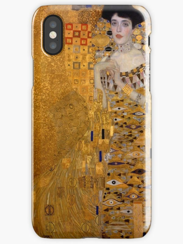Adele Bloch Bauer by Gustav Klimt iPhone Cases & Covers