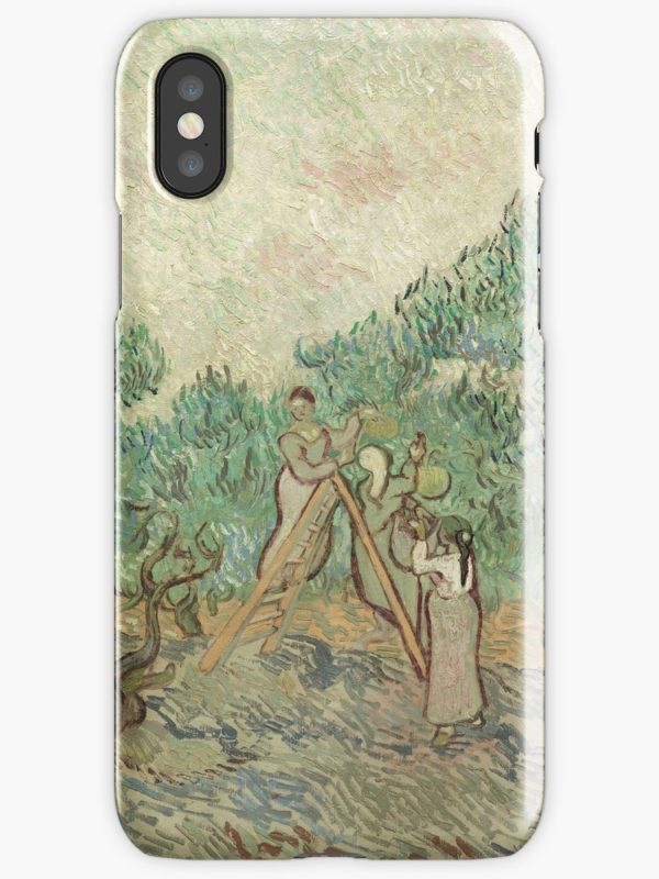 The Olive Orchard by Vincent van Gogh - Classic Art iPhone Cases & Covers
