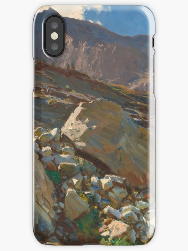 Simplon Pass Oil Painting by  John Singer Sargent iPhone Cases & Covers