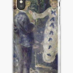 The Swing Oil Painting by Auguste Renoir iPhone Cases & Covers