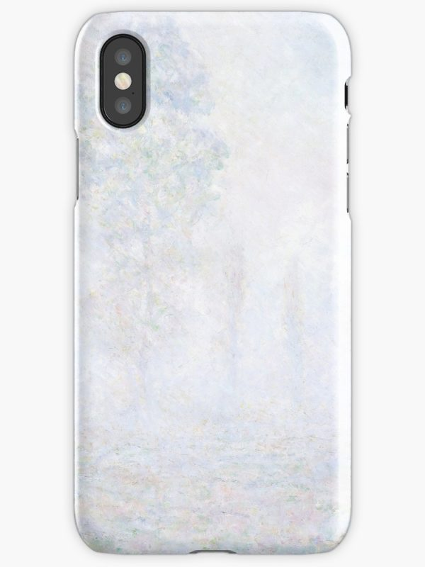 Morning Haze by Claude Monet iPhone Cases & Covers