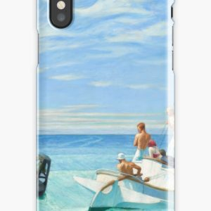 Ground Swell Oil Painting by Edward Hopper iPhone Cases & Covers
