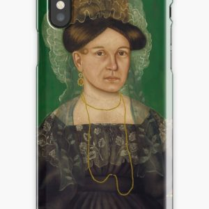 Eliza R. Read Oil Painting by Royall Brewster Smith iPhone Cases & Covers