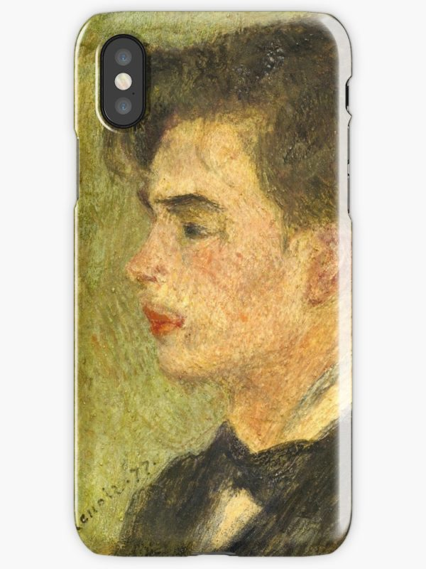 Georges Rivière Oil Painting by Auguste Renoir iPhone Cases & Covers