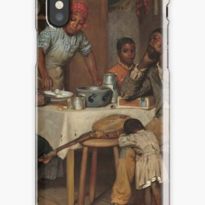 A Pastoral Visit Oil Painting by Richard Norris Brooke iPhone Cases & Covers
