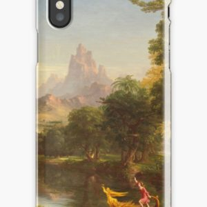 The Voyage of Life Youth Painting by Thomas Cole iPhone Cases & Covers