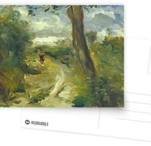 Landscape Between Storms Oil Painting by Auguste Renoir Postcards