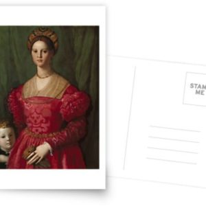 A Young Woman and Her Little Boy Oil Painting by Agnolo Bronzino Postcards