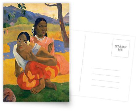 Affordable Art $300,000,000 When Will You Marry by Paul Gauguin Postcards