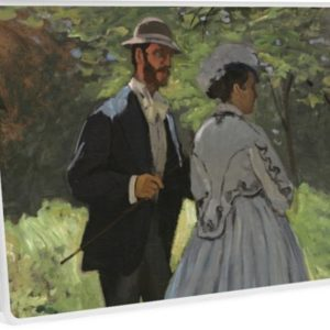 Bazille and Camille Painting by Claude Monet Laptop Skins