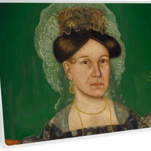 Eliza R. Read Oil Painting by Royall Brewster Smith Laptop Skins